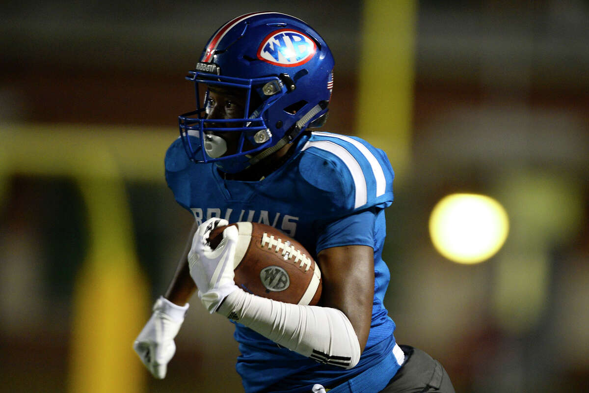 Damon Ward Jr. School: West Brook Year: Senior Notes: Ward finished with 350 receiving yards and seven touchdowns in 2017, including a four touchdown game against Oak Ridge.