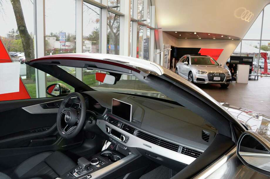 New car showroom as Audi Albany opens new showroom on at 723 New Loudon Road Thursday Nov. 9, 2017 in Colonie, NY.  (John Carl D'Annibale / Times Union) Photo: John Carl D'Annibale / 20042035A