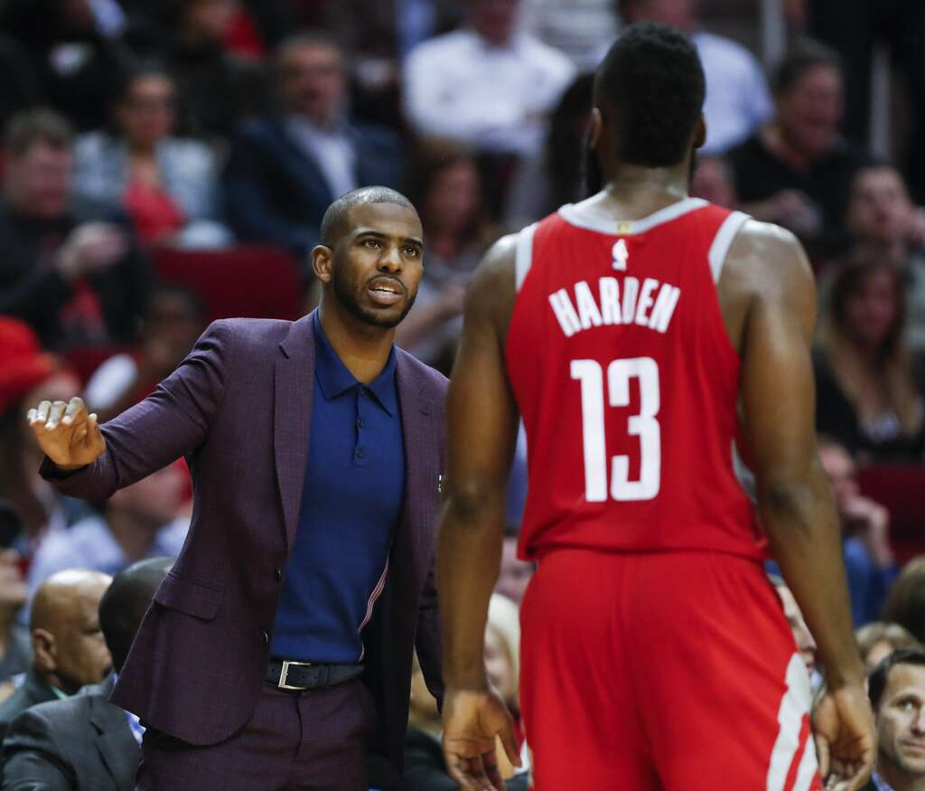 Chris Paul looking closer to a return to Rockets lineup Houston