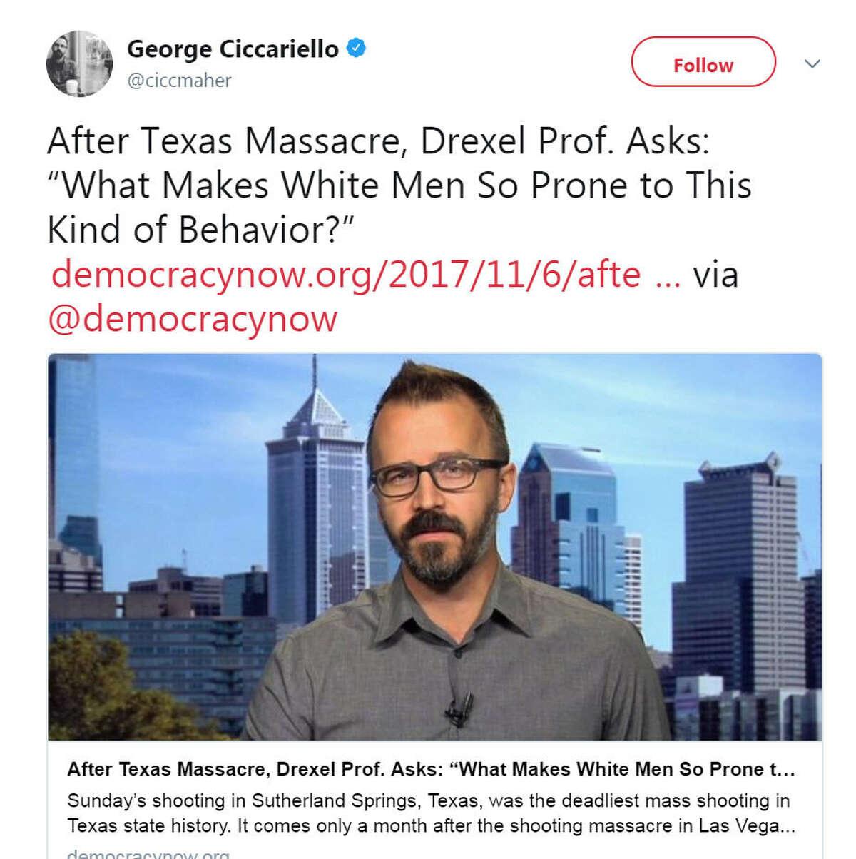 A Drexel University professor believes