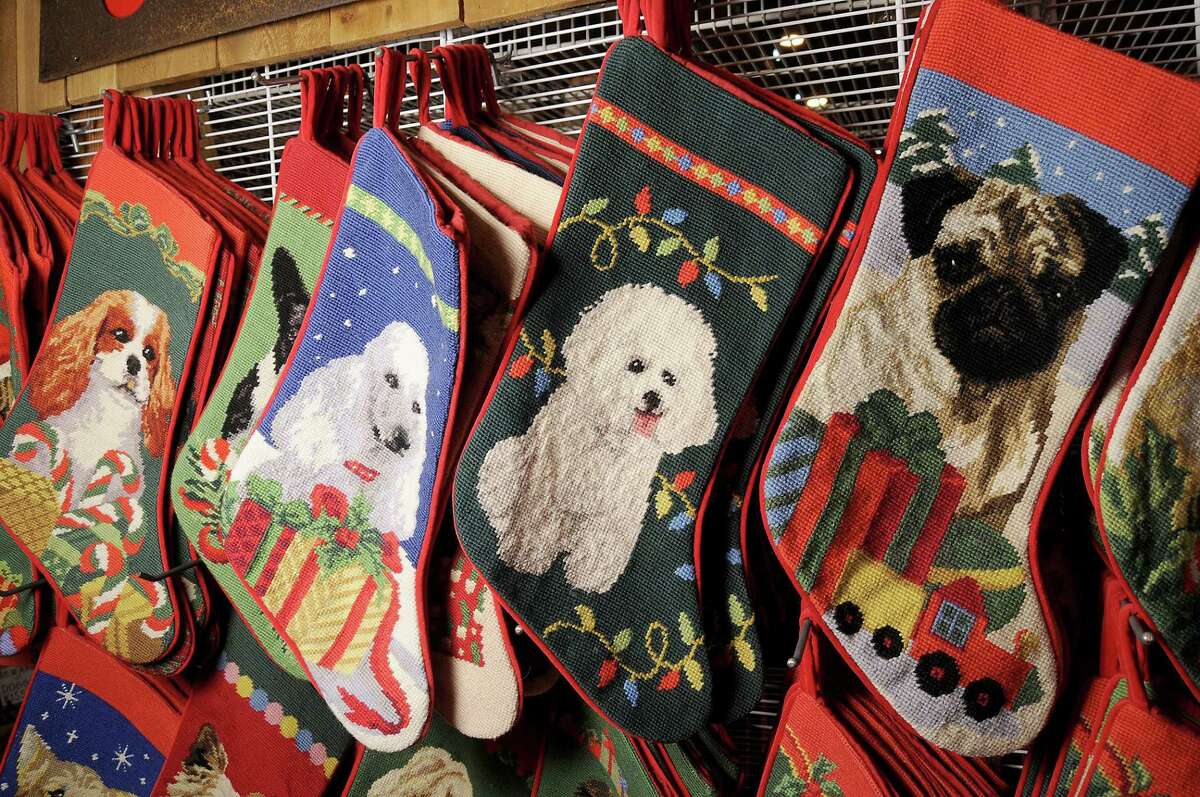 Don't forget to pick up a doggie stocking at the Crafty Canines booth at the Nutcracker Market.