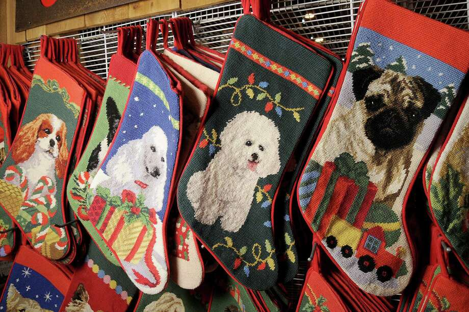 Don't forget to pick up a doggie stocking at the Crafty Canines booth at the Nutcracker Market. Photo: Dave Rossman, Freelance / Freelalnce