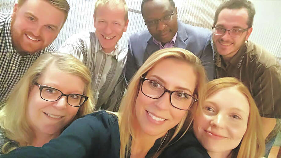 These people are ready to help you! As a Zedi customer you'll get to  know one of these great folks, who will help you get any Zedi service  you need, when you need it. With. One. Call. You can't beat service like  that! Photo: Courtesy Photo
