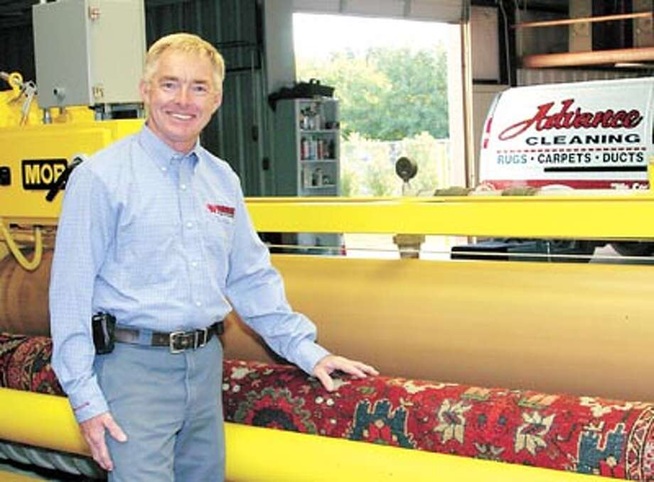 Advance Cleaning's Holman Padgett has sought out extensive  training on how to clean, preserve and restore precious oriental rugs.  Call Advance Cleaning at 550-8325. Photo: Courtesy Photoi