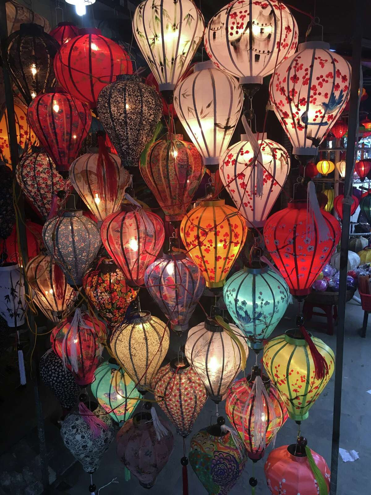 Lisa Ermak said: The simple things in life like these beautiful silk lanterns that remind me how thankful I am to have visited Vietnam
