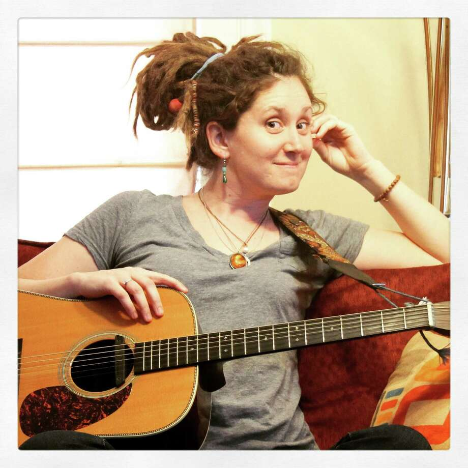 Singer-songwriter Kristen Graves from Southport joins hundreds attending the Northeast Regional Folk Alliance conference in Stamford this weekend. Photo: Contributed Photo