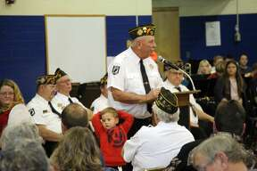 The community honored those who served our country during a Veterans Day program, Friday, at the Bad Axe Middle School.