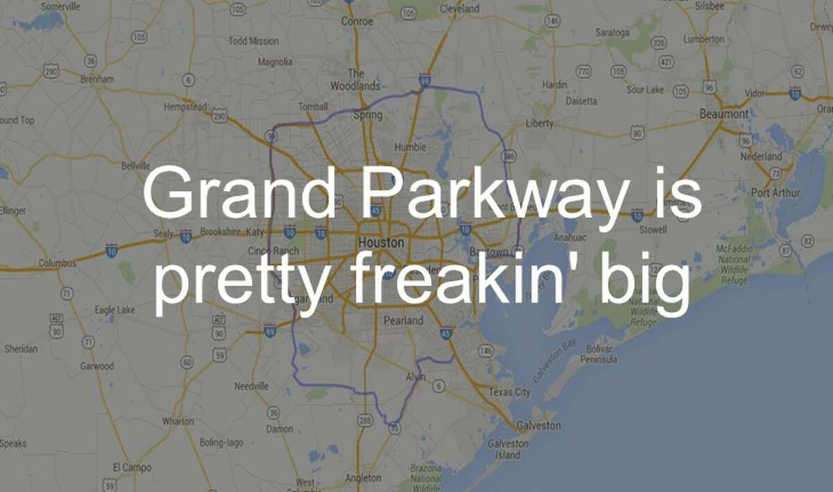 See just how big Grand Parkway is in the gallery ahead.