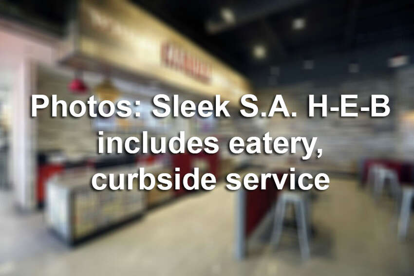 A True Texas BBQ drive-thru and curbside delivery serve are among several changes H-E-B is experimenting with at its 118,000-square-foot Bulverde store, which opened in August 2017. Click ahead for an inside look.
