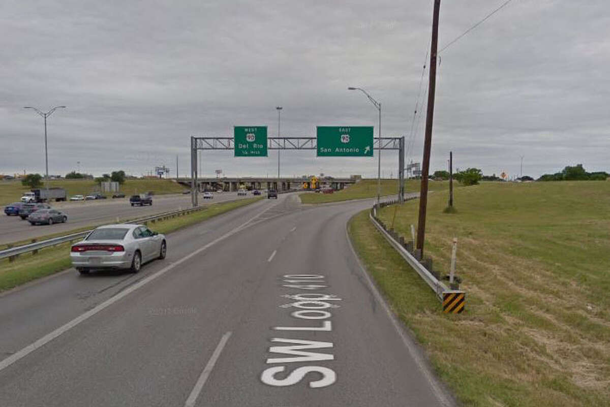 8 p.m. Friday-5 a.m. Monday, Nov. 17-20 NB Loop 410 at U.S. 90 Traffic will head east at the U.S. Hwy 90 exit, turnaround at West Military Drive and return to Loop 410.