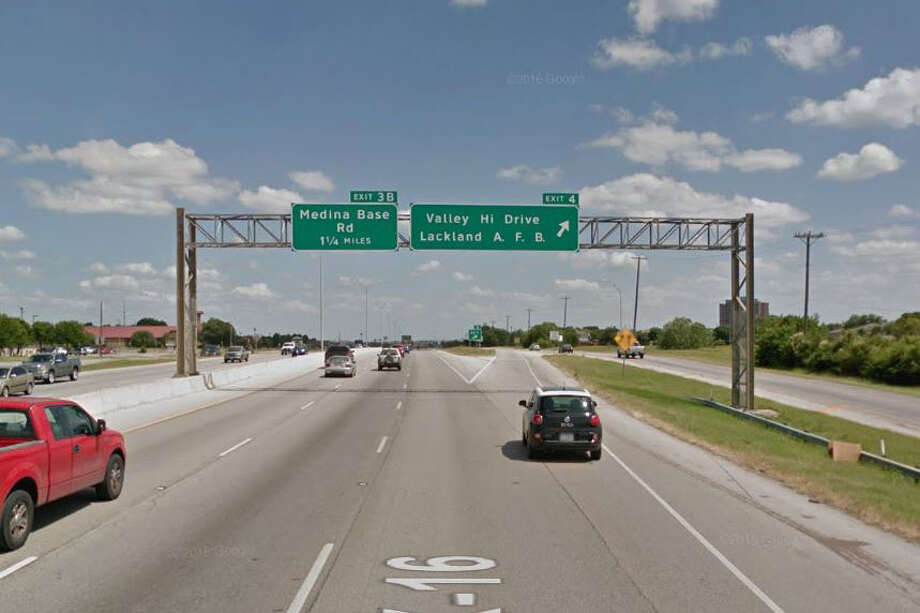 8 p.m. Friday-5 a.m. Monday, Nov. 17-20 SB Loop 410 at U.S. 90 Traffic will head west at the U.S. Hwy 90 exit, turnaround at Hunt Lane and return to Loop 410. Photo: Google Maps