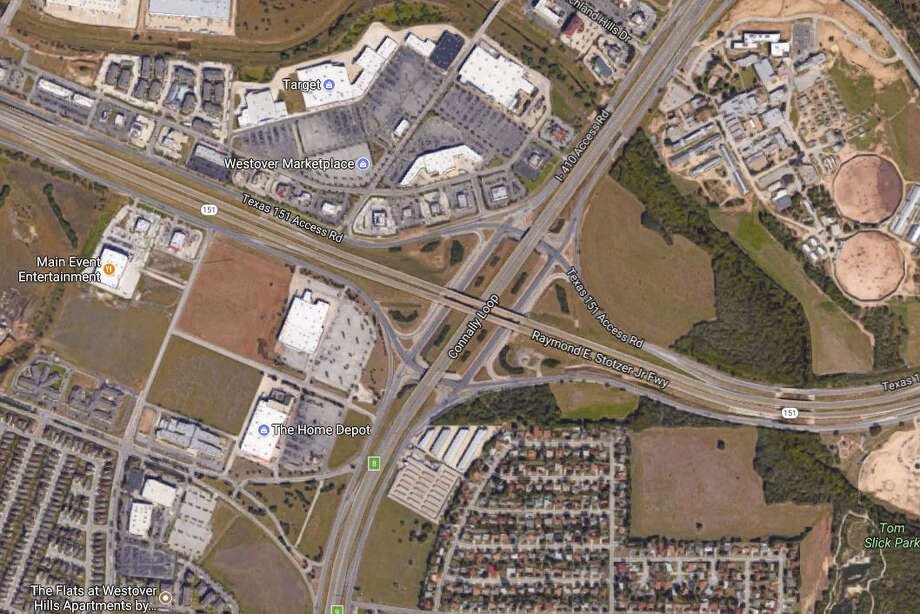 Friday – Monday, Nov. 10-13Westbound US 90 at I-410Traffic will take northbound I-410 to Hwy 151, turn around and return to US Hwy 90. Photo: Google Maps