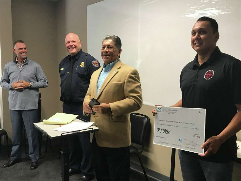 The Midland Fire Department received a $3,000 donation from Legacy Realtors to purchase bulletproof vests. Photo: Facebook / City Of Midland