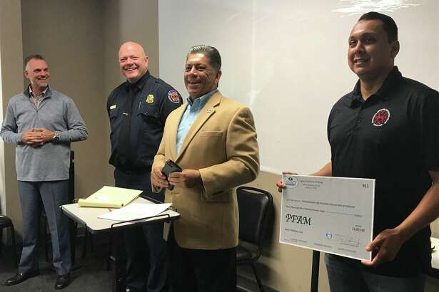 The Midland Fire Department received a $3,000 donation from Legacy Realtors to purchase bulletproof vests.