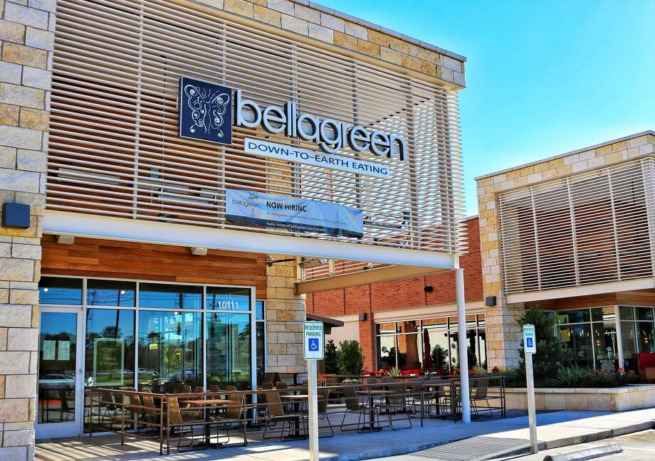 Bellagreen in Vintage Marketplace is a prototype for the restaurant's rebranding efforts away from the Ruggles Green name. This restaurant represents how the brand will look as it continues to expand in Texas.  Photo: Bellagreen
