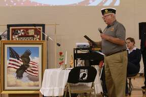 The Unionville-Sebewaing Area School District hosted a Veterans Day program for its students and local vets on Thursday.