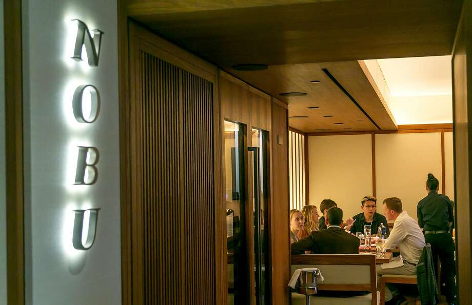 People have dinner at Nobu in Palo Alto. Photo: John Storey, Special To The Chronicle