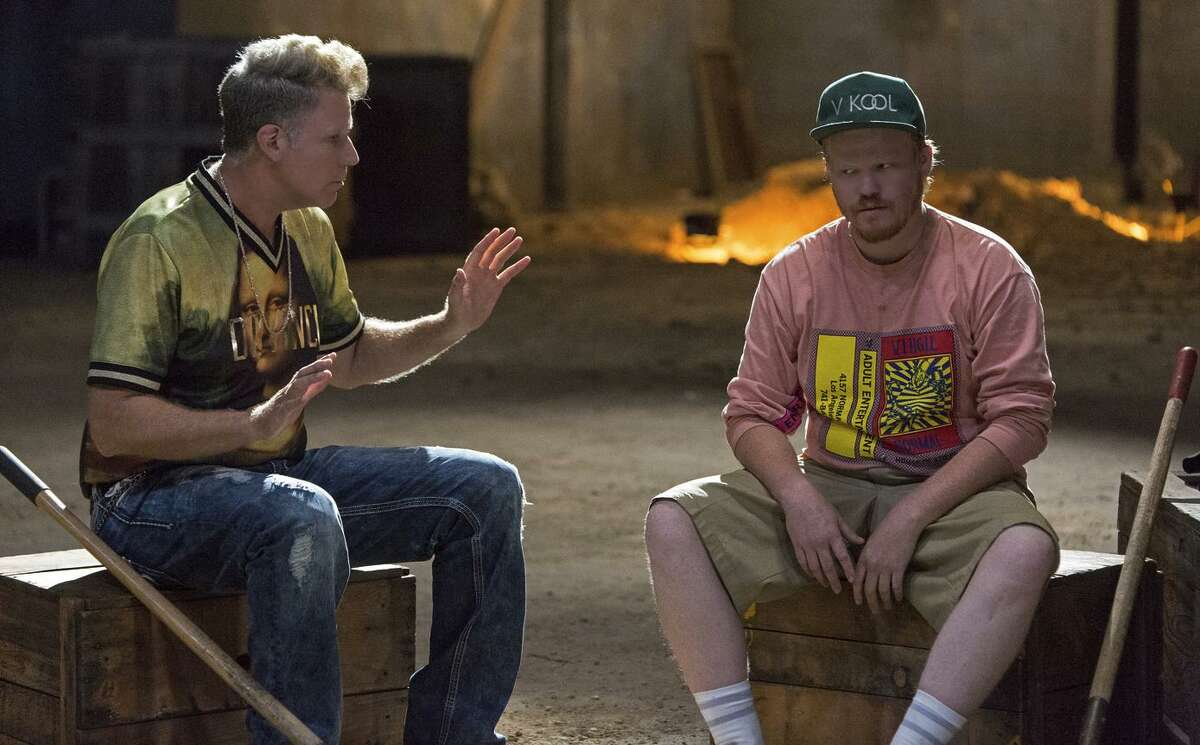 """Will Ferrell (left) as Adrian and Jesse Plemons as his stepson Angus in """"No Activity,"""" the first original comedy series on CBS All Access - the one viewers have to pay for."""