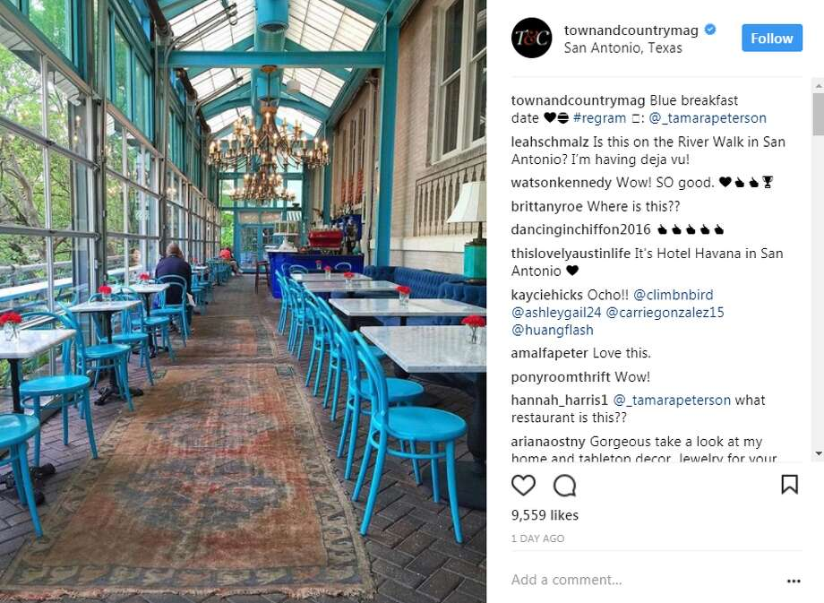 """In September, San Antonio's Ocho at Hotel Havana was named one of """"The World's Most Gorgeous Glass Restaurants,"""" the shine continues this month with a recent highlight from Town and Country Magazine."""