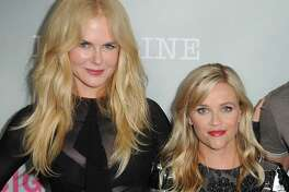 """LOS ANGELES, CA - JULY 25:  (L-R) Nicole Kidman, Reese Witherspoon, Alex Skarsgard and Jean-Marc Valleearrives at HBO """"Big Little Lies"""" FYC at DGA Theater on July 25, 2017 in Los Angeles, California.  (Photo by FilmMagic/FilmMagic for HBO)"""