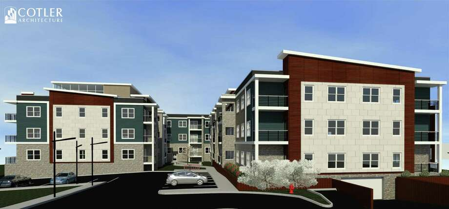 FM Promontory Capital is hoping to redevelop a retail strip across from St. Peter's Hospital on New Scotland Ave. in Albany. The $18 million project would include 93 apartment units and a 6,798-square-foot commercial and retail building.