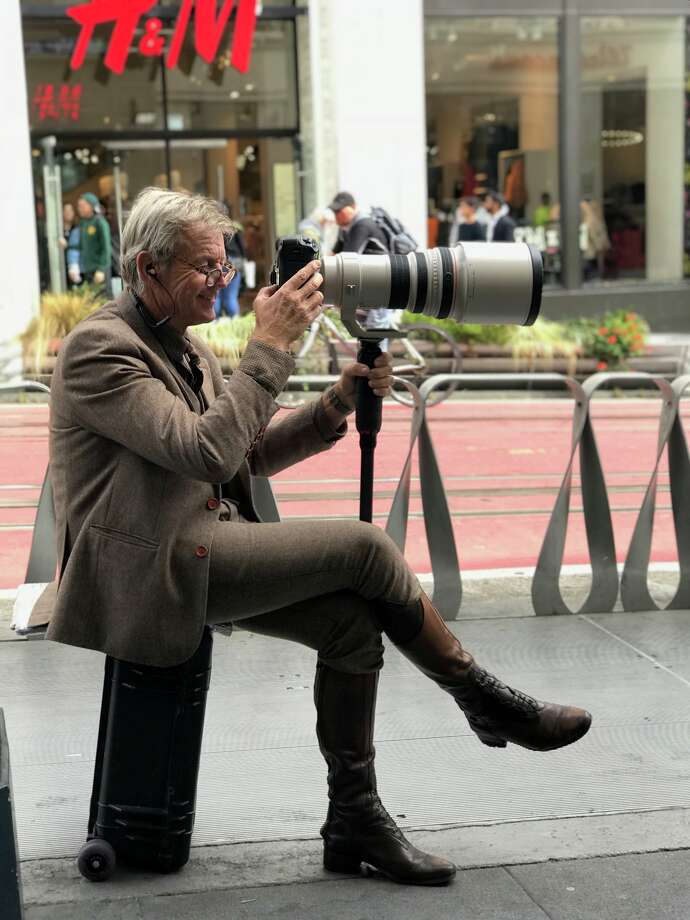 Photographer Maarten Van Dijk has taken images of San Francisco tourists and Bay Area locals for the past 10 years. Click ahead to see his favorite shots of tourists and locals in downtown SF through the years.  Photo: Courtesy Of Maarten Van Dijk