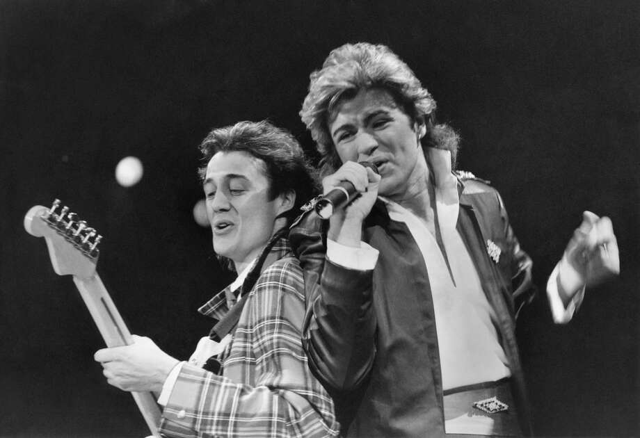 Wham! at Astroworld's Southern Star Ampitheater, 1989Elena Collins Photo: Mirrorpix/Getty Images