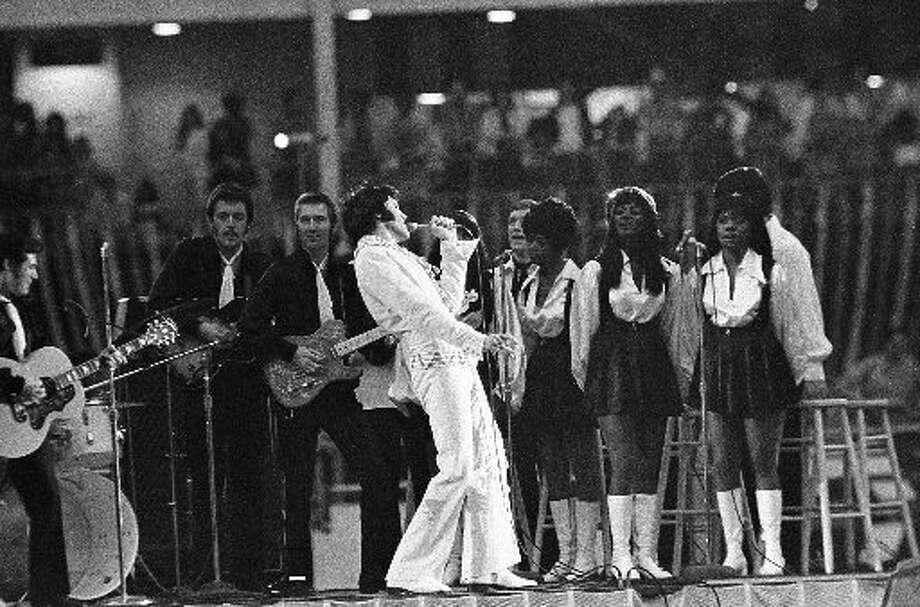 Elvis at at the Astrodome in 1970Shelley Mathews Photo: Houston Chronicle File