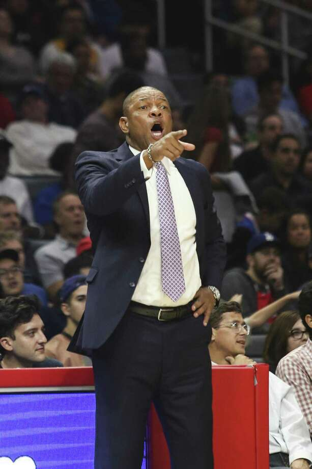 L.A. Clippers coach Doc Rivers knows what it is like to lose key players to injury. Photo: Ringo H.W. Chiu /Associated Press / FR170512 AP