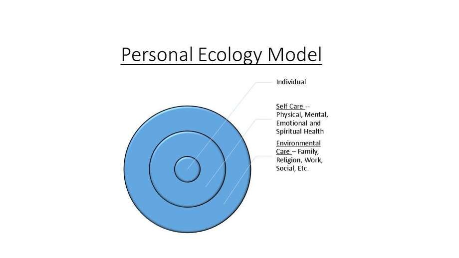 Personal ecology model Photo: CONTRIBUTED