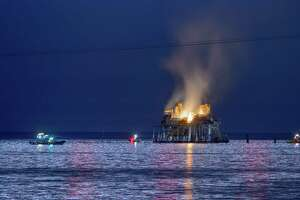 An oil rig explosion happened on Oct. 15 in Lake Pontchartrain, off Kenner, La. A Katy man was killed.