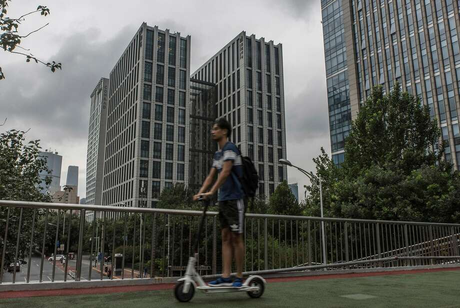 LinkedIn's China headquarters is in Beijing. It has been a rare foreign Internet company in a country that blocks many others. Photo: GILLES SABRIE, NYT