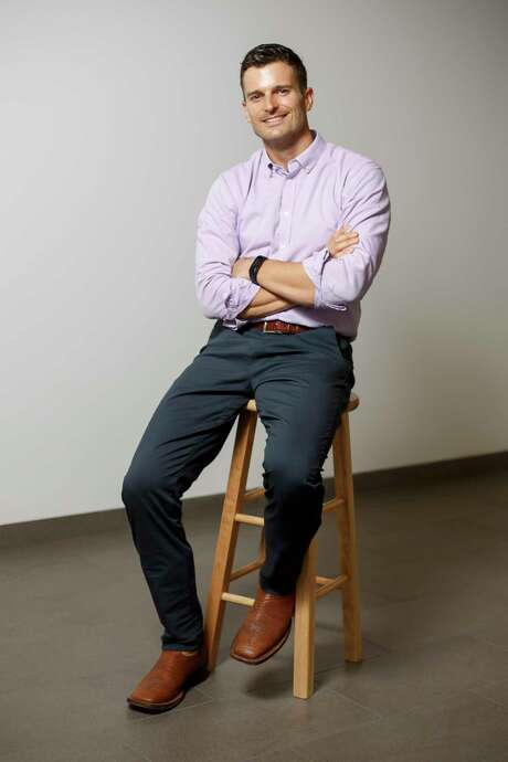 Joshua Rhodes, a Research Associate at the Energy Institute, The University of Texas at Austin, poses for a portrait on November 2, 2017. Joshua Rhodes, a Research Associate at the Energy Institute, The University of Texas at Austin, poses for a portrait on November 2, 2017. Photo: Spencer Selvidge / Spencer Selvidge