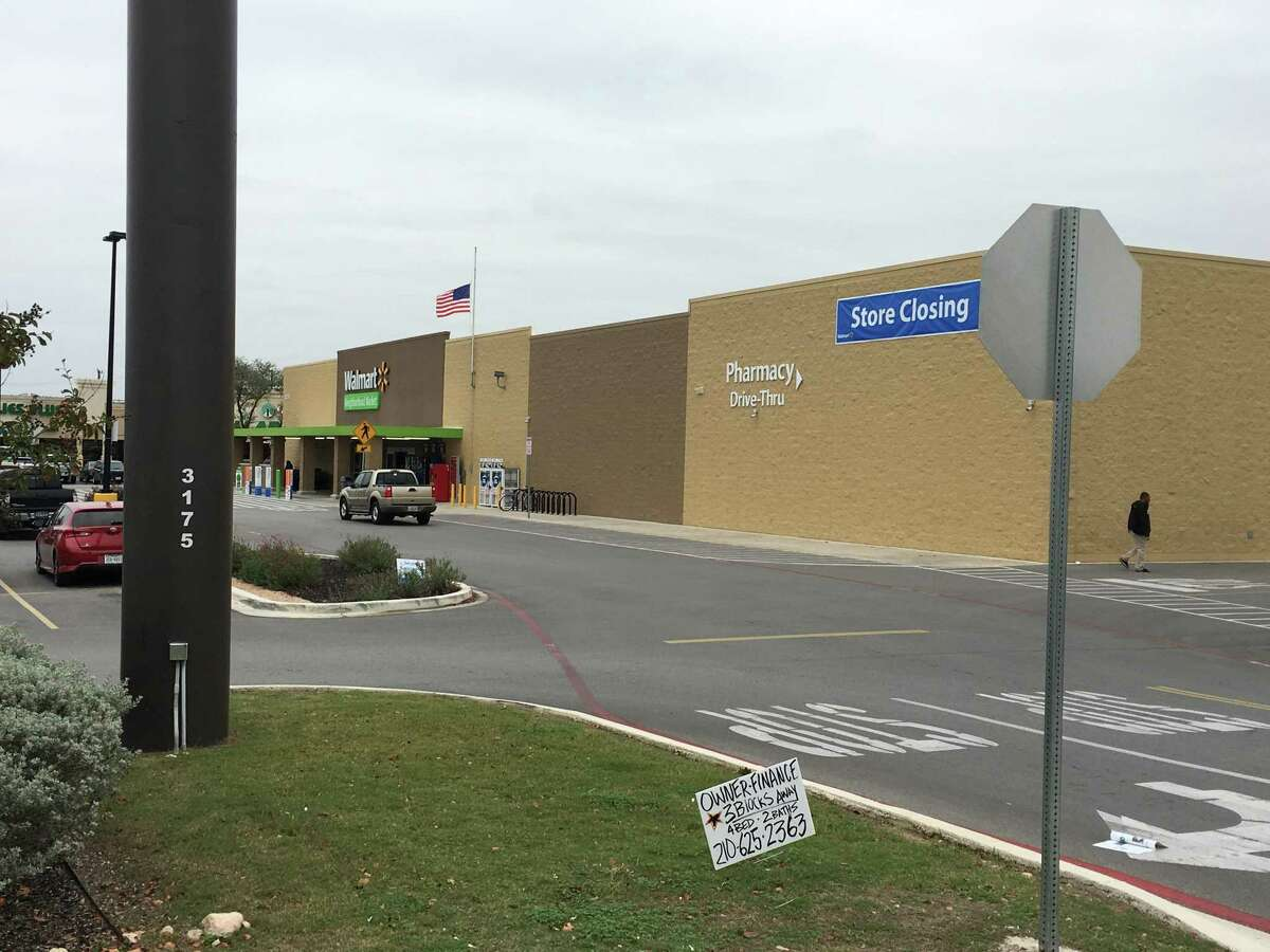 Walmart Stores Inc. closed its Neighborhood Market store on Nacogdoches Road near MacArthur High School in 2017. The location will become North East ISD's high school cybersecurity magnet program next year.