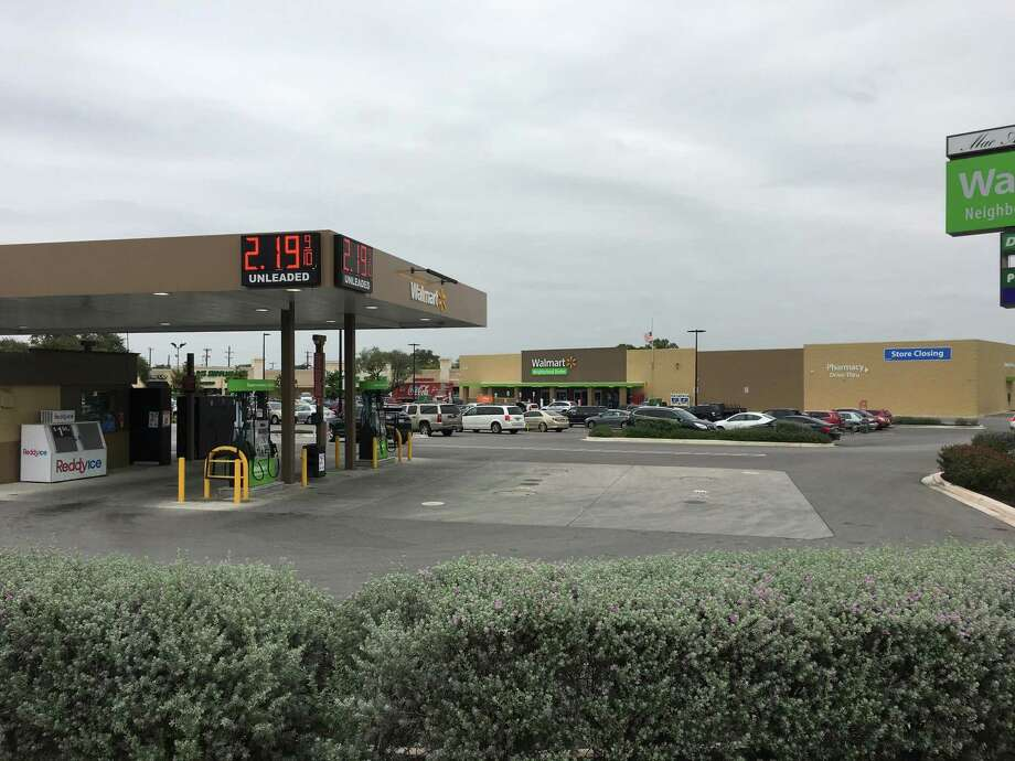 Walmart Stores Inc. is closing three of its Neighborhood Market stores in the San Antonio area, the company said Wednesday. The company's Neighborhood Market store at 3175 Nacogdoches Road (pictured) closed in December. Photo: Joshua Fechter /