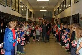 Ubly Community Schools hosted its Veterans Day program Friday morning.