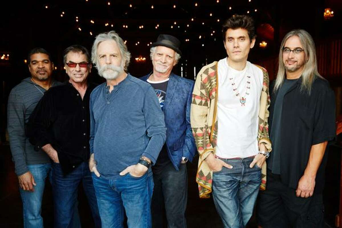 John Mayer performs with Dead & Company at Hartford's XL Center on Nov. 22.