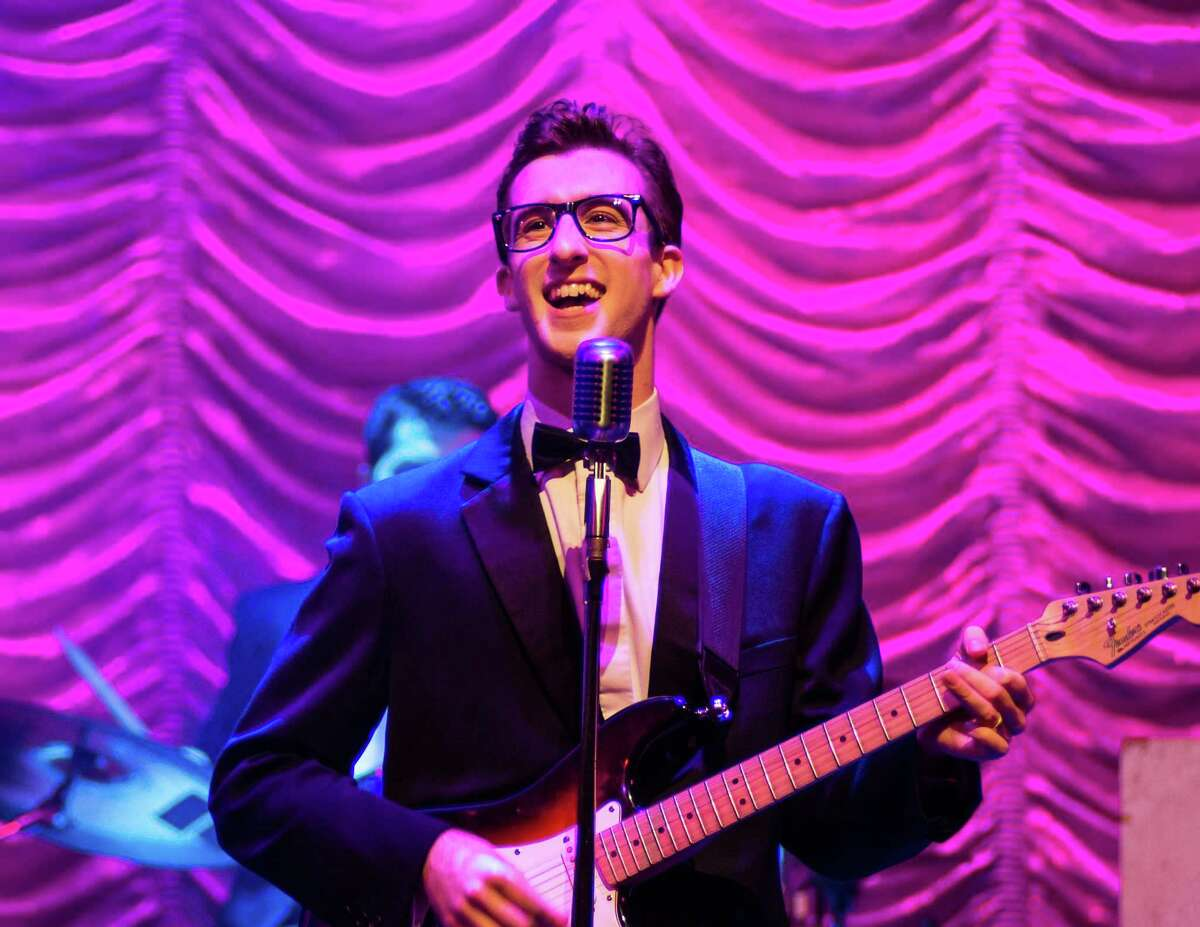 Michael Perrie Jr. as Buddy Holly.