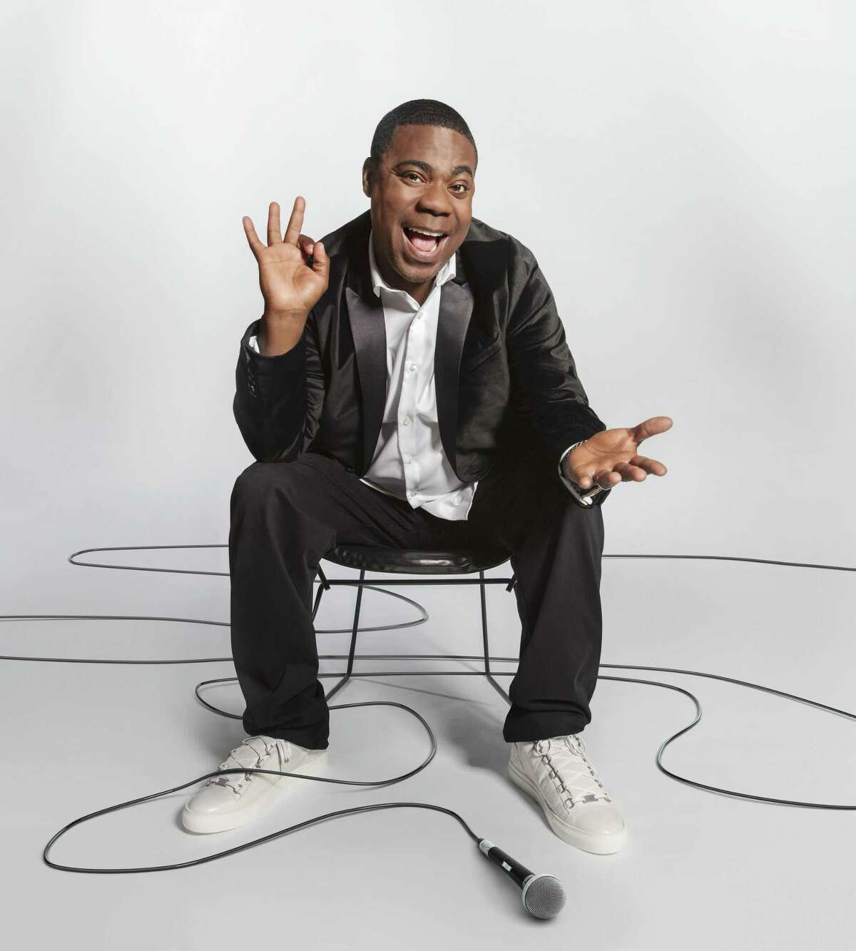 Comedian Tracy Morgan performs at Foxwoods Resort Casino on Nov. 18.