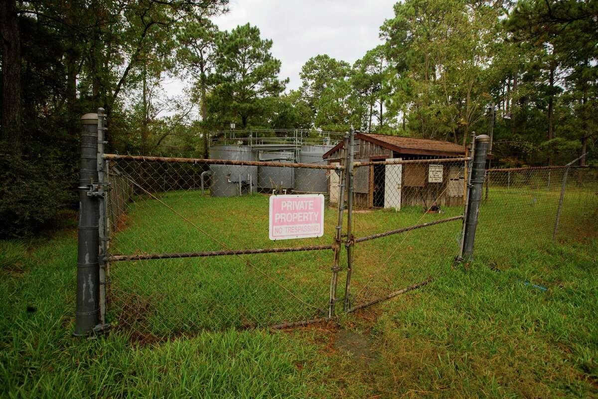The Cedar Bayou Parks Treatment Plant
