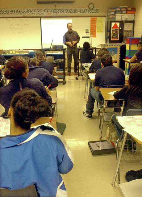 A state study that tracked eighth-graders from 2005 to 2011 shows that students in the Rio Grande Valley outperformed those in Bexar County. Photo: Beaumont Enterprise File Photo