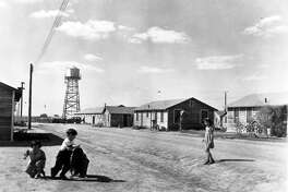 Children play at the Crystal City internment camp during World War WII. How come this isn't routinely taught in schools?