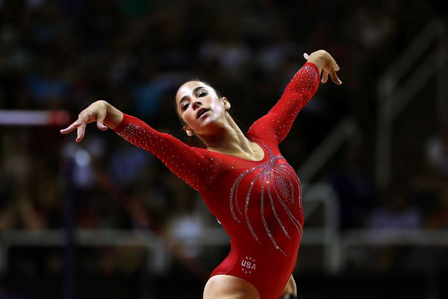 Aly Raisman was the captain of the gold-medal-winning 2012 and 2016 U.S. Olympic gymnastics teams. Photo: CHANG W. LEE, NYT