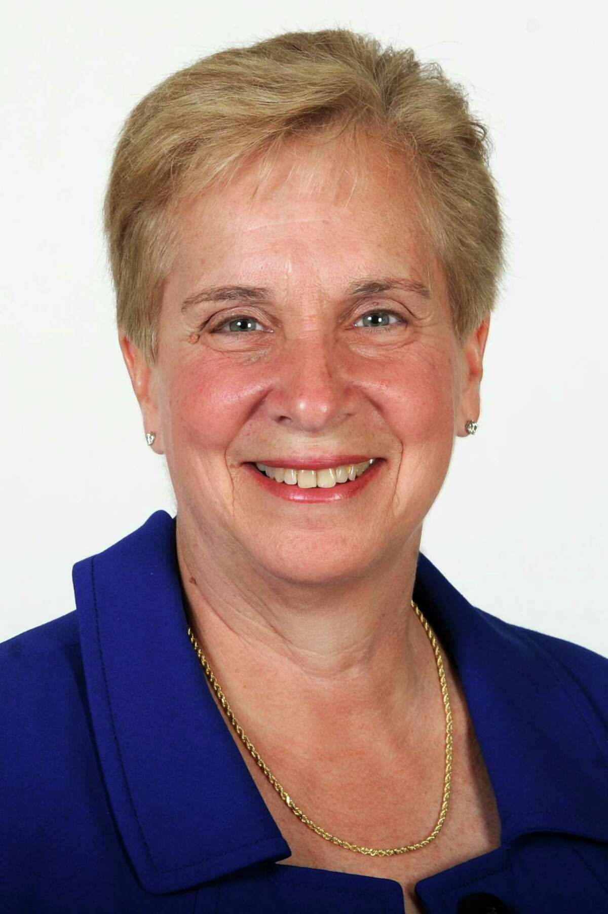 Vicki Tesoro, Trumbull first selectman elect.