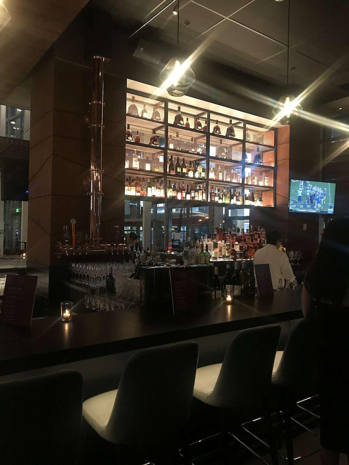 Bar at International Smoke