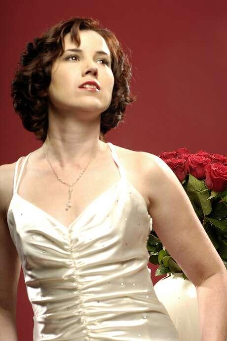 "Soprano Diane Squires will perform ""Mr. Tambourine Man."" Photo: Glenn Sweet"