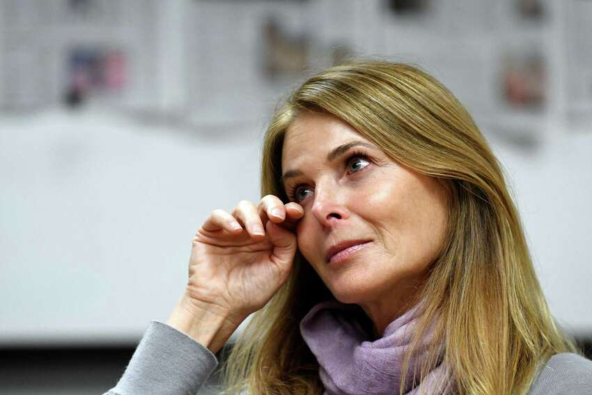 Catherine Oxenberg's daughter was caught up in NXIVM. Today her daughter is home safe. Oxenberg, who is shown here being interviewed at the Times Union on Monday, Nov. 6, 2017, in Colonie, N.Y., is expected to be a key witness in the trial. (Will Waldron/Times Union)