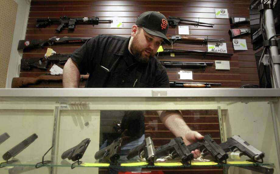 In the aftermath of the mass shooting in Sutherland Springs, a reader argues for legislation restricting gun sales in America. Photo: Michael Macor /The Chronicle / ONLINE_YES