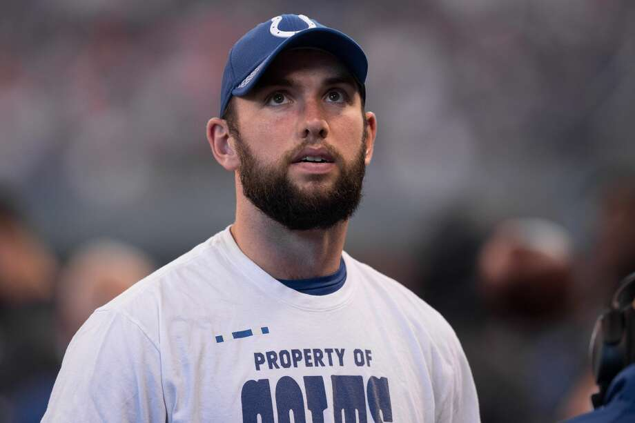 Andrew Luck's recover is the key to the Colts future, no matter who the new coach is. Photo: Icon Sportswire/Icon Sportswire Via Getty Images