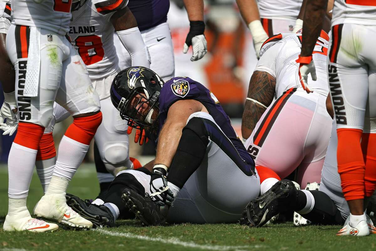 Baltimore Ravens lost RG, Marshal Yanda, to an ankle injury suffered in a win over the Cleveland Browns back in Sept.